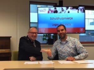 Op 5 september 2018 ondertekenden voorzitter Joost Schelling namens SchuldHulpMaatje en veldsecretaris Richard de Vree namens het Leger des Heils Kerkgenootschap een nieuwe samenwerkingsverklaring.
