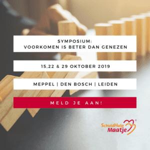 SchuldHulpMaatje Symposium oktober 2019