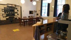 De ovenruimte in De Bakkerij in Leiden